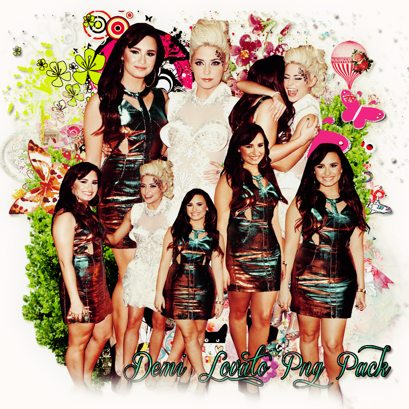 Pack png 182 Demi Lovato by MichelyResources