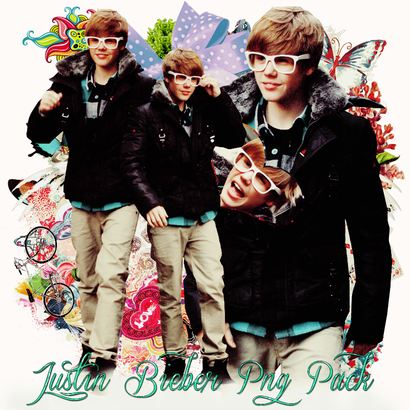 Pack png 193 Justin Bieber by MichelyResources