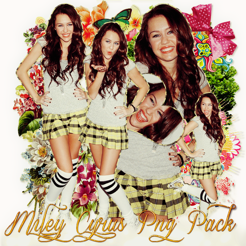 Pack png 196 Miley Cyrus by MichelyResources