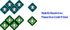 Shin Megami Tensei IV/FINAL - Press Turn Icons