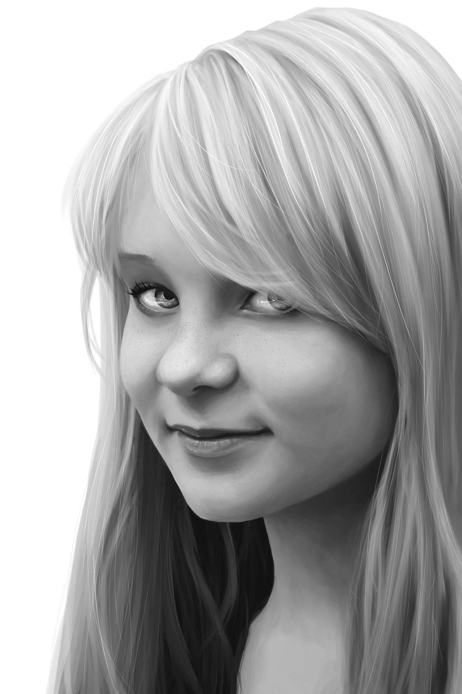 Portrait by Riuki-tyan