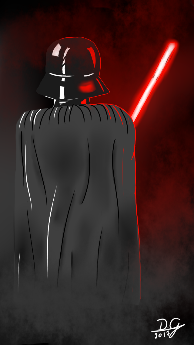 Darth Vader Iphone 5 Wallpaper By DGzim