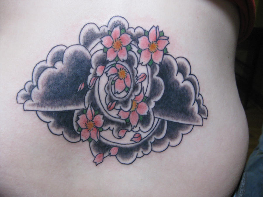 Mah Cherry Blossom Tattoo