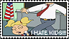 Stamp: I Hate Kids by ReiBogatu