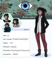 unEYE: Robin by ElasticCrayon