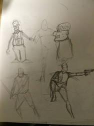 sketchbooking by Tokyoc