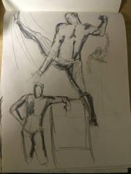 figure studies by Tokyoc