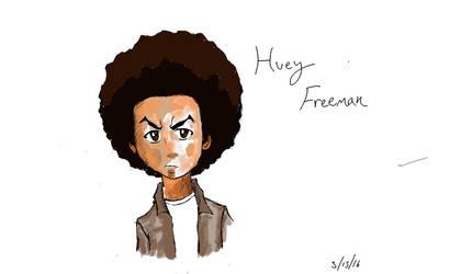Huey Freeman by Tokyoc