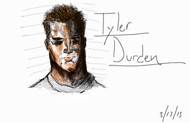 Tyler Durden by Tokyoc