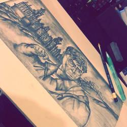 Harry Potter piece by Tokyoc