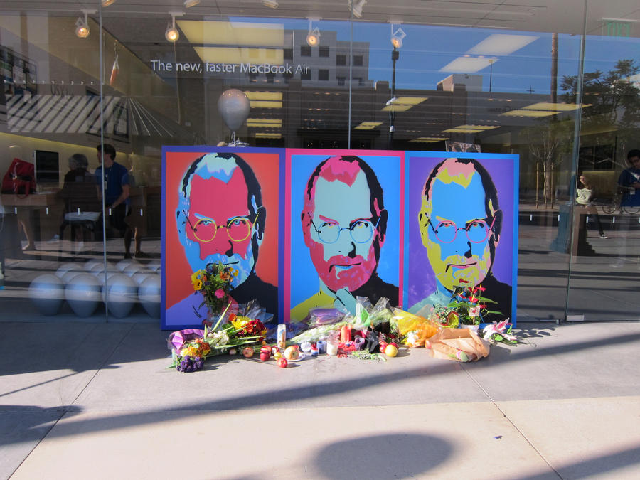 Steve Jobs Memorial by xXxTaintedSoulxXx