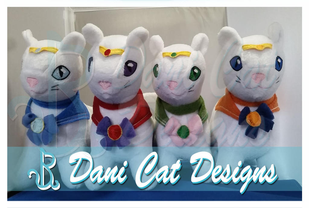 Inner Sailor Mew Plush by saiyanyoko