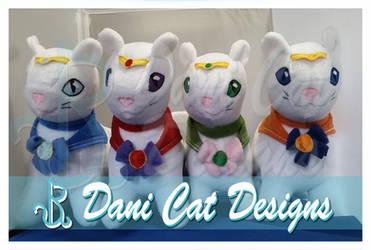 Inner Sailor Mew Plush by saiyanyoko