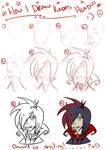 How I draw heads?