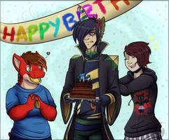 Happy Birthday Talon! by Cryo-Tech