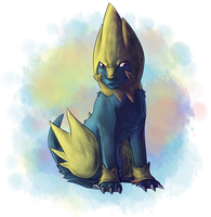 Pkmn Challenge Day o4 - Electric by Aldarch
