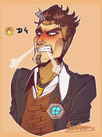 Handsome Jack D4 by Aldarch