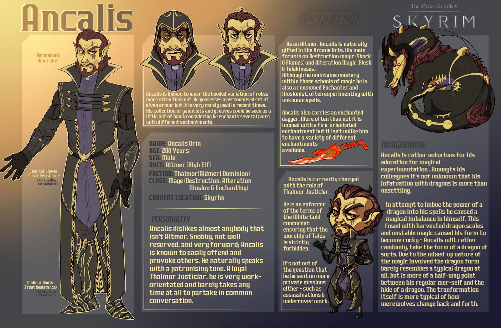 Skyrim RPC : Ancalis Orin by Aldarch on DeviantArt