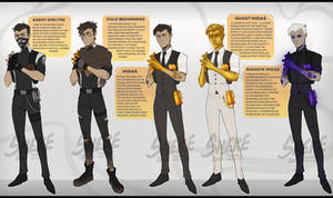 [AU] Agent Spectre / Midas Reference