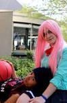 Daiki Aomine et Satsuki Momoi - Kuroko no Basket by Strange-Gal