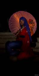 chibi Maya Natsume - Enfer et Paradis/Tenjou Tenge by Strange-Gal