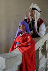 Maya and Jiraya - Tenjou TengeXNaruto by Strange-Gal