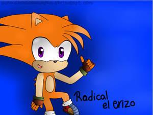 Radical the Hedgehog (Regalo para Dismotron)
