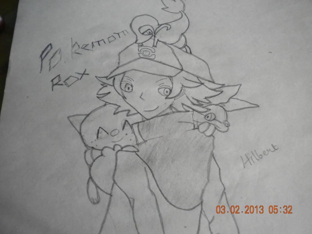Pokemon Hilbert!!! by NekuShakabra