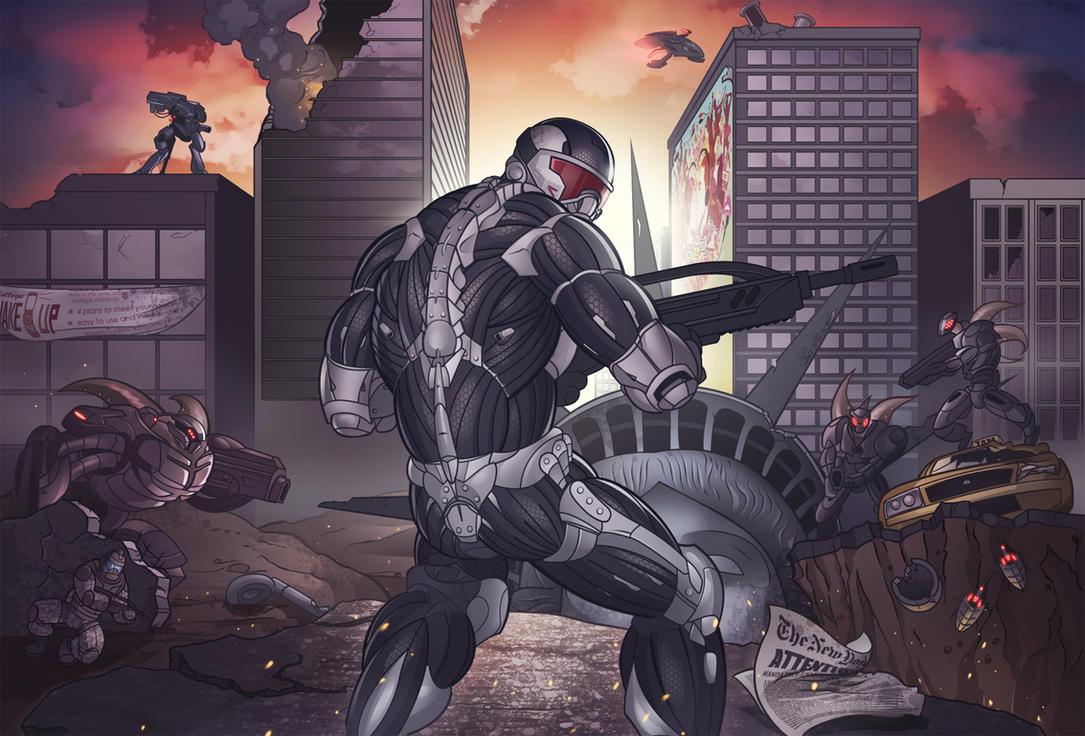 Crysis 2 By Diam0nt On DeviantArt