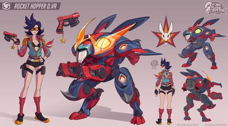 Rocket Hopper D.Va by Diam0nt