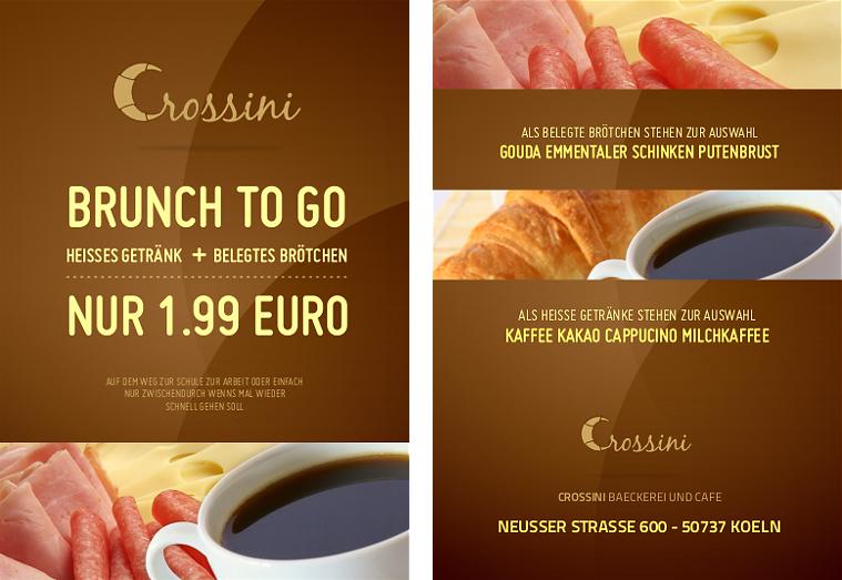 Crossini Bakery Flyer by MrBlaq on DeviantArt
