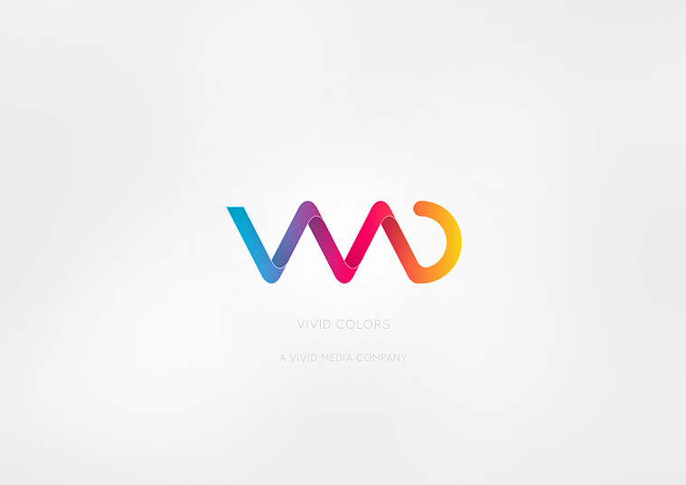 Vivid Colors Logo by MrBlaq