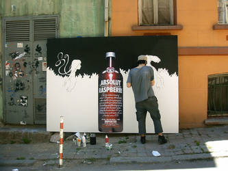 absolut 'size does metter' by sadidas
