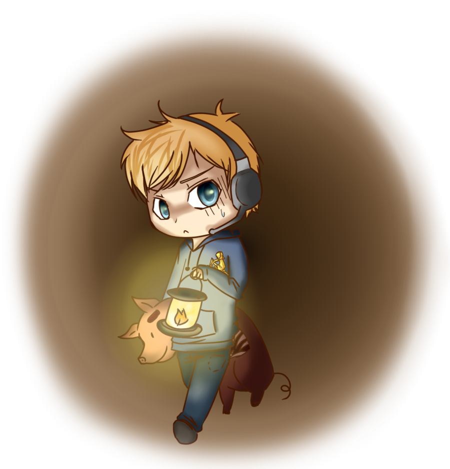Pewdiepie: alone in the dark....Or not. by Chipupull