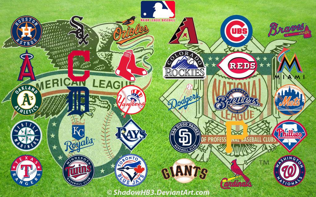 Major League Baseball (MLB) Logos by ShadowHB3 on DeviantArt