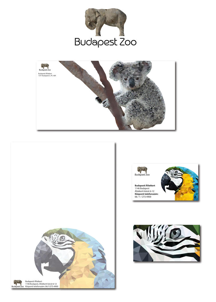 zoo logo, business card, envelope, letter paper by Ichigatsu95 on ...