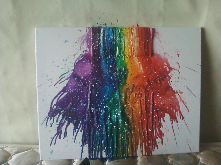 Crayons. by Tediri