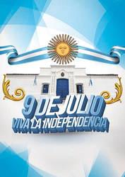 Tapa Dia de la Independencia Argentina