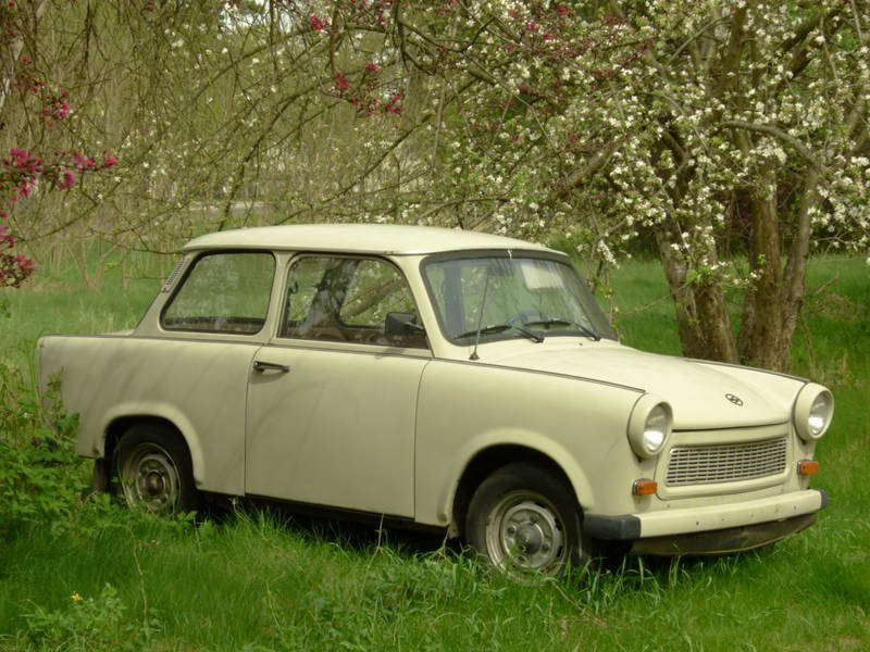 The TRABANT in the spring by utico