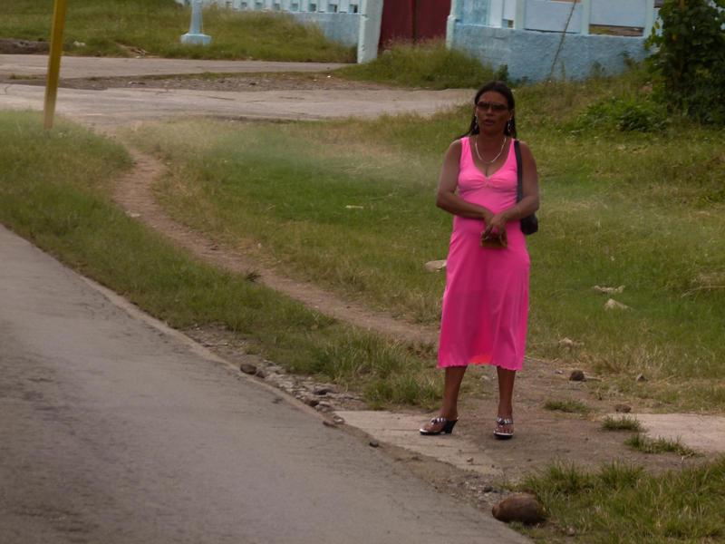 Cuba . Pink Lady by utico