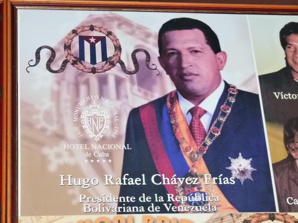 Cuba . Hugo Chavez by utico