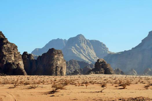 Wadi Rum . Jordan