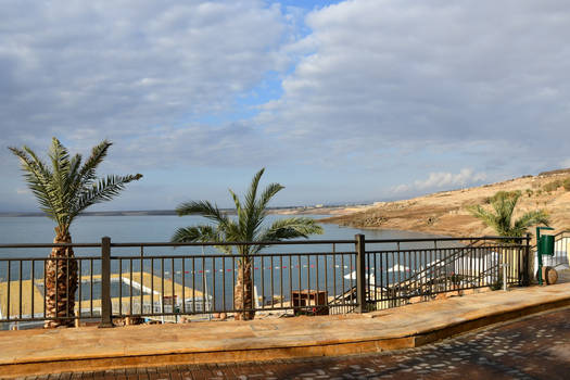 Dead Sea . Jordan