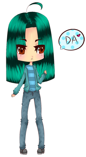 .:DA ID:. by XnubcakeX