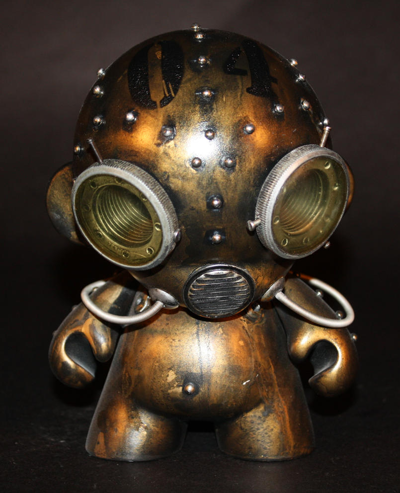 Aqua Robot Munny - 04 by Harris-Built