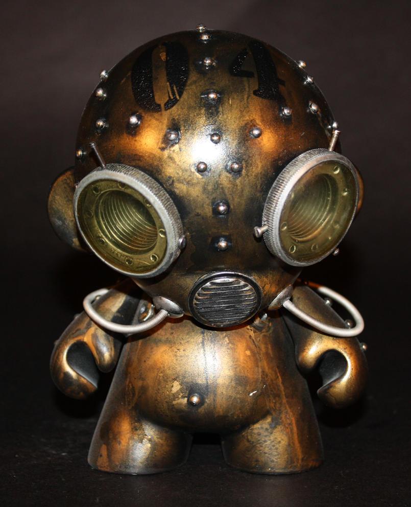 Aqua Robot Munny - 04 by Harris-Built