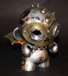Skully Robot Munny-02 by Harris-Built