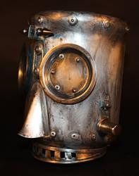Robot Head-025 BOB by Harris-Built