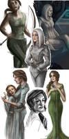 Hunger Games - Sketch Dump