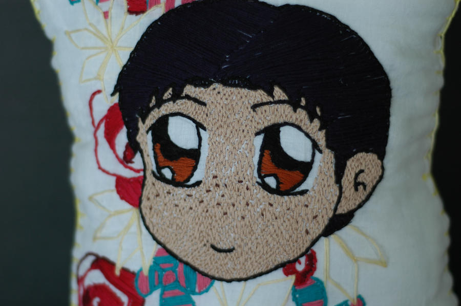 Marco Pillow Close up by Frozenpoletongue